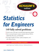 Schaum s Outline of Statistics for Engineers