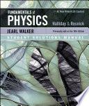 Fundamentals of Physics 11e Student Solutions Manual