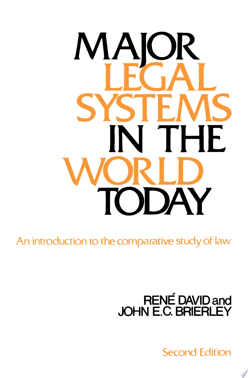 Major Legal Systems in the World Today banner backdrop