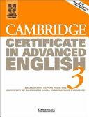 Cambridge Certificate in Advanced English 3 Student s Book