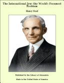 The International Jew: The World's Foremost Problem Pdf/ePub eBook