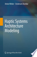 Haptic Systems Architecture Modeling Book PDF