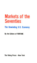 Markets of the Seventies Book