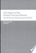 The Report of the Patrick Finucane Review