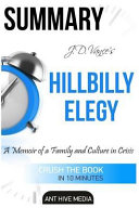 Summary Hillbilly Elegy by J.d. Vance