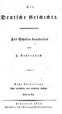 Die deutsche geschichte
