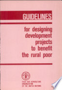 Guidelines for Designing Development Projects to Benefit the Rural Poor