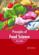Principles of Food Science Book