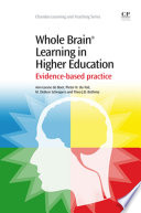 Whole Brain   Learning in Higher Education Book