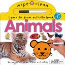 Wipe Clean Animals Book PDF