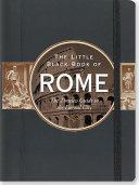The Little Black Book of Rome Pdf/ePub eBook