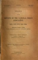 Proceedings Of The Annual Congress Of The National Prison Association Of The United States