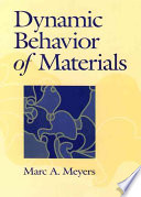 Dynamic Behavior of Materials