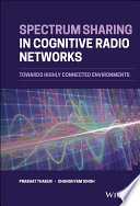 Spectrum Sharing in Cognitive Radio Networks