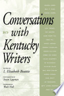 Conversations with Kentucky Writers