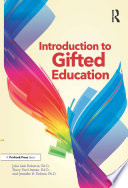 Introduction To Gifted Education