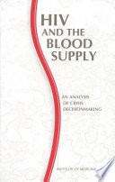 HIV and the Blood Supply