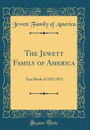 The Jewett Family Of America