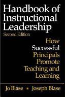 Handbook of Instructional Leadership Book