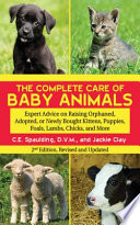 The Complete Care Of Baby Animals Book PDF