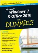Windows 7 & Office 2010 for Dummies