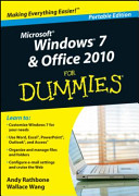 Windows 7 Office 2010 For Dummies
