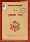 Forestry  Nepal Book