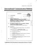 International Communication Bulletin
