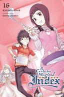 A Certain Magical Index  Vol  16  light novel