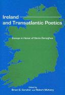 Ireland and Transatlantic Poetics