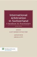 International Arbitration in Switzerland Pdf/ePub eBook