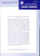 The Primitive Economics of the Trobriand Islanders