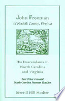 John Freeman of Norfolk County, Virginia