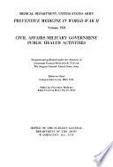 Preventive Medicine in World War II