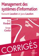 Corrigés de Management des systèmes d'information