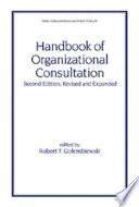 Handbook of Organizational Consultation, Second Editon