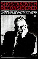 Shostakovich Reconsidered