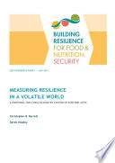 Measuring resilience in a volatile world