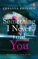 Something I Never Told You Book