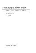 Manuscripts of the Bible