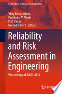 Reliability And Risk Assessment In Engineering Book PDF