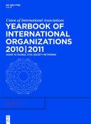 Yearbook Of International Organizations 2010 2011