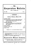 Pdf The Corporation Bulletin ...