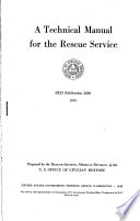 A Technical Manual for the Rescue Service