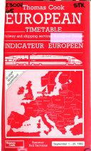 Thomas Cook European Timetable
