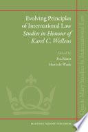 Evolving Principles Of International Law