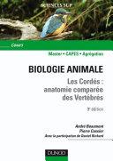 Pdf Biologie animale - Les Cordés - 9e éd. Telecharger
