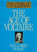 The Age of Voltaire Book