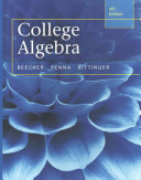 College Algebra with Integrated Review and Worksheets Plus New Mymathlab with Pearson Etext   Access Card Package