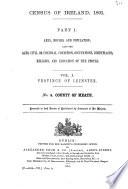 Census of Ireland  1891     Book